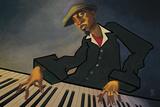 Piano Man II Kunst van  BUA