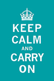 Keep Calm and Carry On Posters by  Unknown