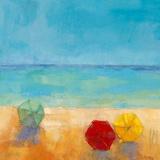 Parasols II Prints by Regine Pivier-Attolini