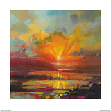 Optimism Sunrise Study Pósters por Scott Naismith