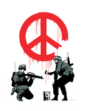 Peace Prints by  Banksy