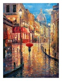 Montmartre Evening Prints by Haixia Liu