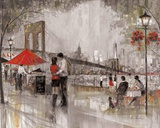 New York Romance Print by Ruane Manning