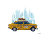 Taxi New York Posters by Barry Goodman