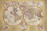 Le Globe Terrestre Posters by Vincenzo Coronelli