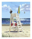 Pelican Perch Print by Scott Westmoreland