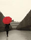 Paris Stroll I Feet Print by Sue Schlabach