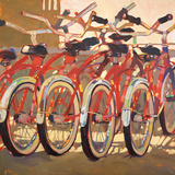 Retro Bikes Prints by Darrell Hill