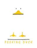 Peeking Duck Posters by Leo Posillico