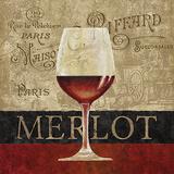 Merlot Art by Conrad Knutsen