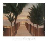 Palm Promenade Prints by Diane Romanello
