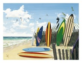 Surf Boards Prints by Scott Westmoreland