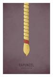 Rapunzel Prints by Christian Jackson