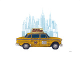 Taxi New York Prints by Barry Goodman