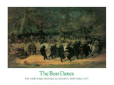 The Bear Dance Poster by William H. Beard