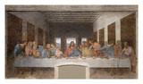 La última cena Láminas por Leonardo Da Vinci