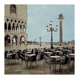 Piazza San Marco 4 Posters af Alan Blaustein