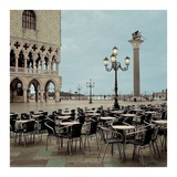 Piazza San Marco 4 Posters by Alan Blaustein