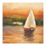 Majorcan Sail II Prints by Adam Rodgers