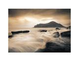 Sepia Sea, Lofoten Islands Posters by Andreas Stridsberg