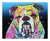 The Bulldog Art by Dean Russo