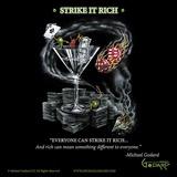 Strike It Rich Plakater av Michael Godard