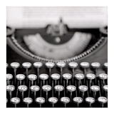 Retro-Typewriter 1 Poster by Alan Blaustein