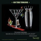 Michael Godard - On the Throne - Reprodüksiyon
