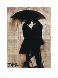 Rain Lovers Posters by Loui Jover