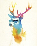 Sunny Stag Art by Robert Farkas