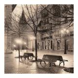 Plaza de Porlier, Oviedo Print by Alan Blaustein