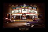 Roxie Picture Palace Print by Helen Flint
