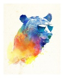 Sunny Bear Prints by Robert Farkas