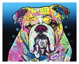 The Bulldog Posters by Dean Russo