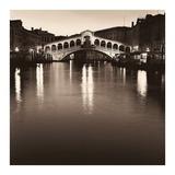 Ponte Rialto di Notte Prints by Alan Blaustein