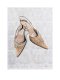 Silver Shoes Print by Shyama Ruffell