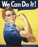 We Can Do It! (Rosie the Riveter) Kunst von J. Howard Miller