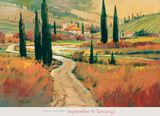 September in Tuscany I Prints by David Jackson