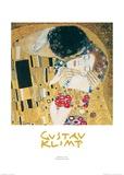 Le baiser Art par Gustav Klimt
