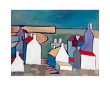 Seaside Town Prints by Derek Melville