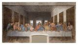 Das letzte Abendmahl Poster von Leonardo Da Vinci