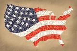Star Spangled Banner Prints by  L.A. Pop Art