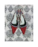 Red Shoes Prints by Shyama Ruffell