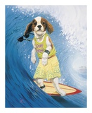 Surf Dawg Prints by Scott Westmoreland