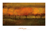 Red Trees I Art by Seth Winegar