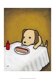 Revenge is a Dish (Dog) Poster by Luke Chueh