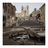 Spanish Steps Rome 1 Posters by Alan Blaustein