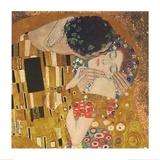 Gustav Klimt - Öpücük - Reprodüksiyon