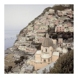 Positano 2 Posters by Alan Blaustein