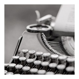 Retro-Typewriter 2 Poster by Alan Blaustein